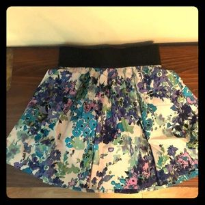 Necessary objects floral skirt
